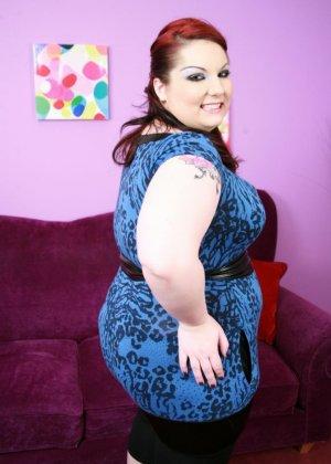 Секс с рыжей толстушкой - фото 1