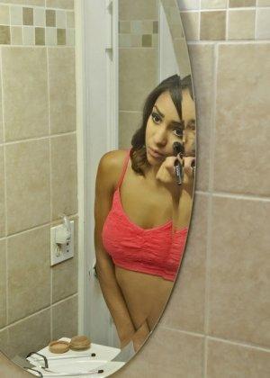 Николь трахнулась выйдя из ванной - фото 1
