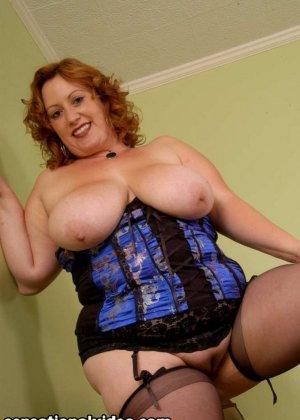 Секс с красивой толстой рыжей дамой Никки Карс - фото 3