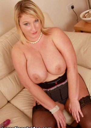 Толстая блондинка Либби любит заниматься сексом - фото 4