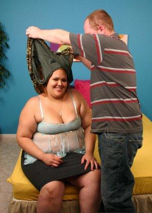 У толстой женщины давно не было секса - фото 10