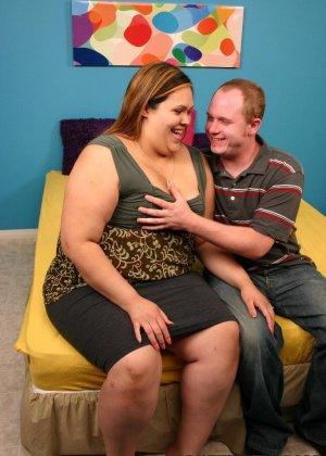 У толстой женщины давно не было секса - фото 13