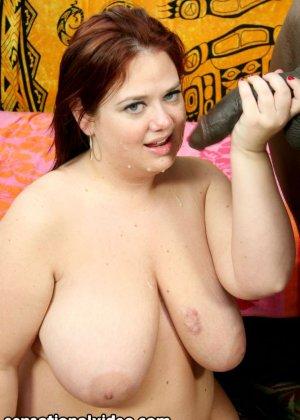 Межрассовый секс  с толстой - фото 2