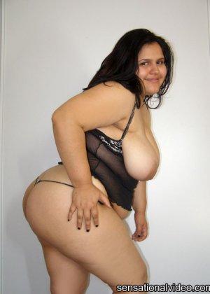 Негр отъебал жирную красавицу в корсете - фото 13