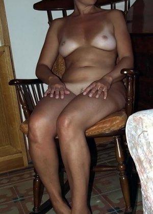 Женщина показывает свое тело, абсолютно не испытывая стеснения – она готова делиться своими секретами со всеми - фото 17