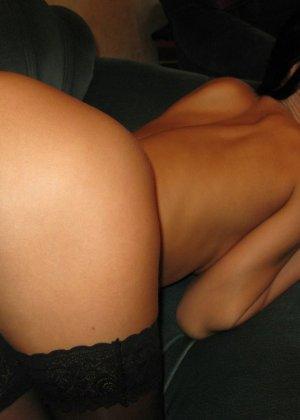 Любительский разврат с молоденькими обнаженными сучками - фото 1