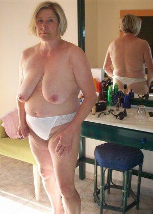 Зрелые дамочки любят развлечься, ведь им только и остаётся получать удовольствие от секса - фото 31