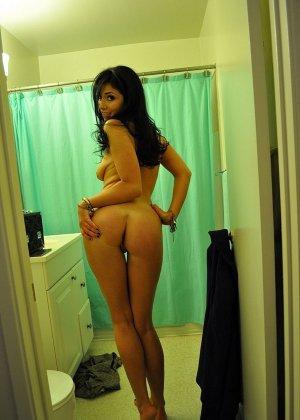 Любительская фото сессия сногсшибательной латиноамериканской девушки - фото 8