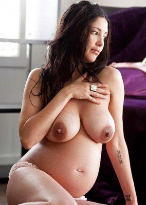 Подборка порно фотографий раскрепощенных беременных телок - фото 21