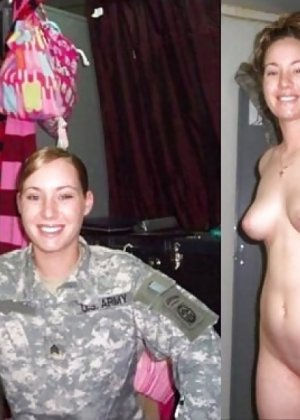 Девушки в военной форме тоже очень горячи и темпераменты - в этом можно убедиться прямо сейчас - фото 17