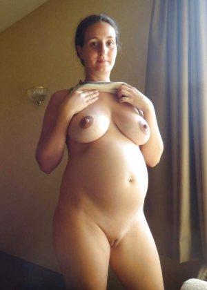 Подборка порно фотографий раскрепощенных беременных телок - фото 22