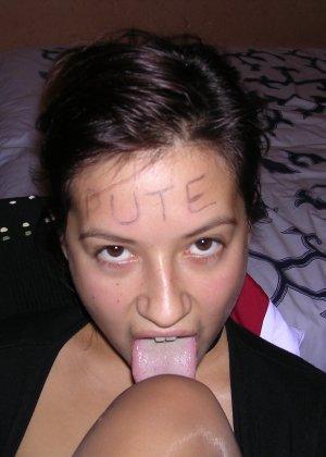 Беременная развратница показывает свое тело и она всегда не против разных развратных действий - фото 19
