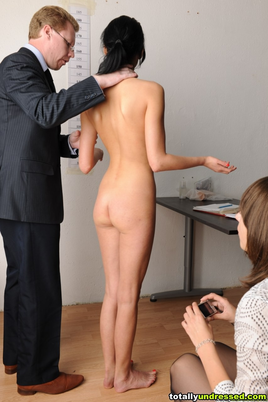 Women nude on the job something