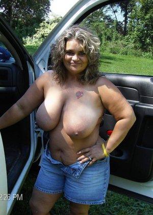Ебля жен с большими сиськами - фото 16