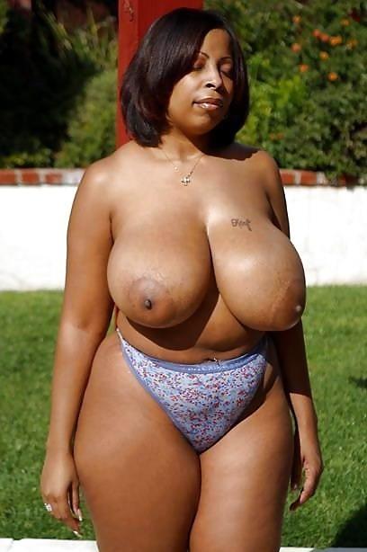 Big black boob picture