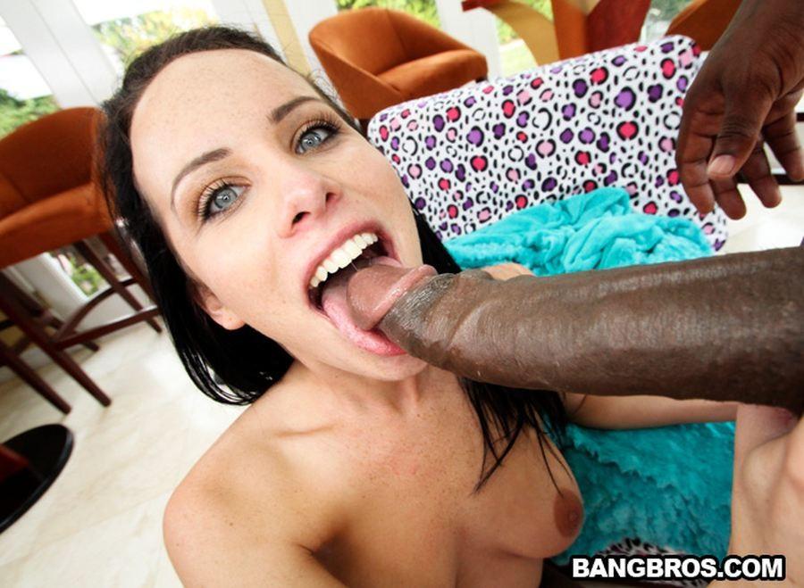 Кэтти и длиннющий черный член