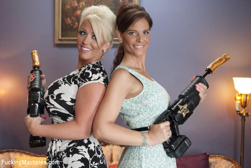 Милитаризированные зрелые дамы