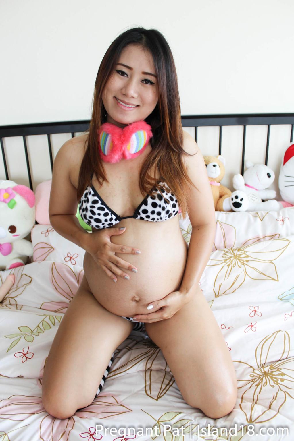 Беременная тайка порно