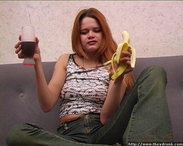 Девушка напилась и хочет ебаться