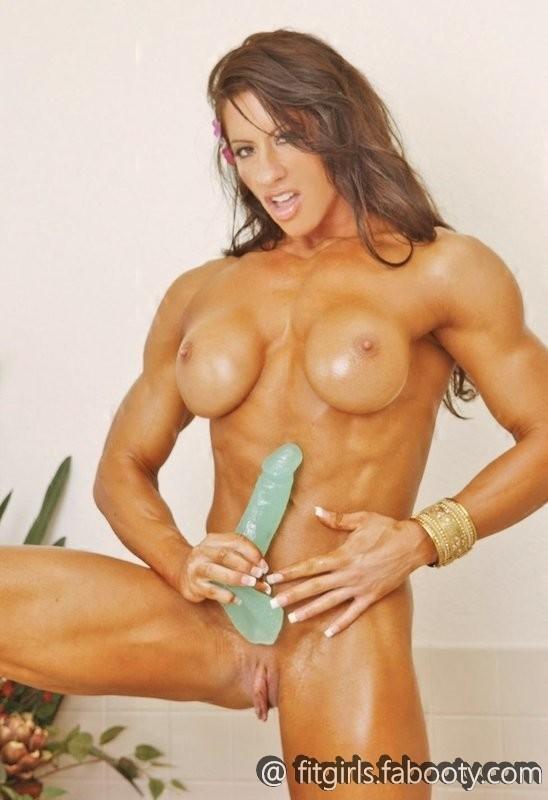 Мускулистые голые телки — 11