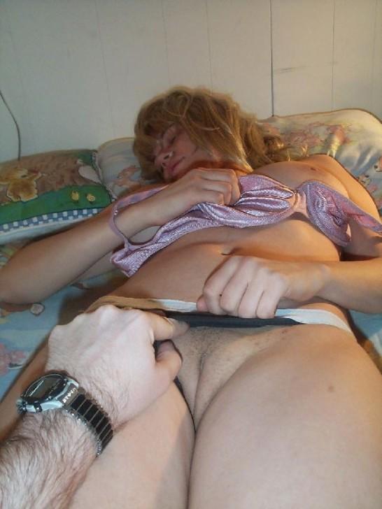 Русское порно подглядел за спящей
