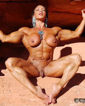 Порно фото мускулистых теток