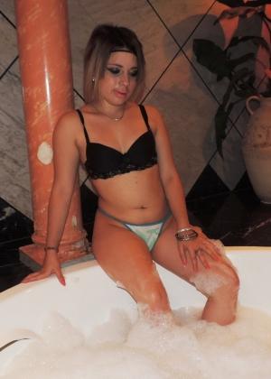 Домашнее порно с жопастой мексиканкой