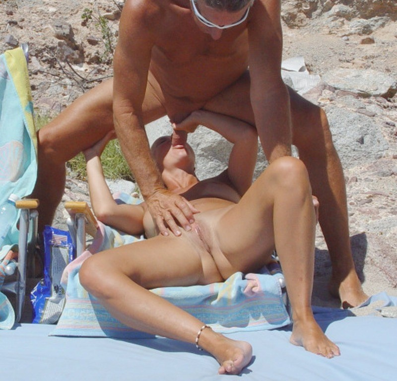 жены пляж секс фото