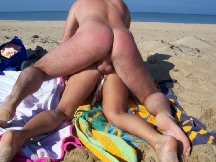 пляжный секс любительское фото