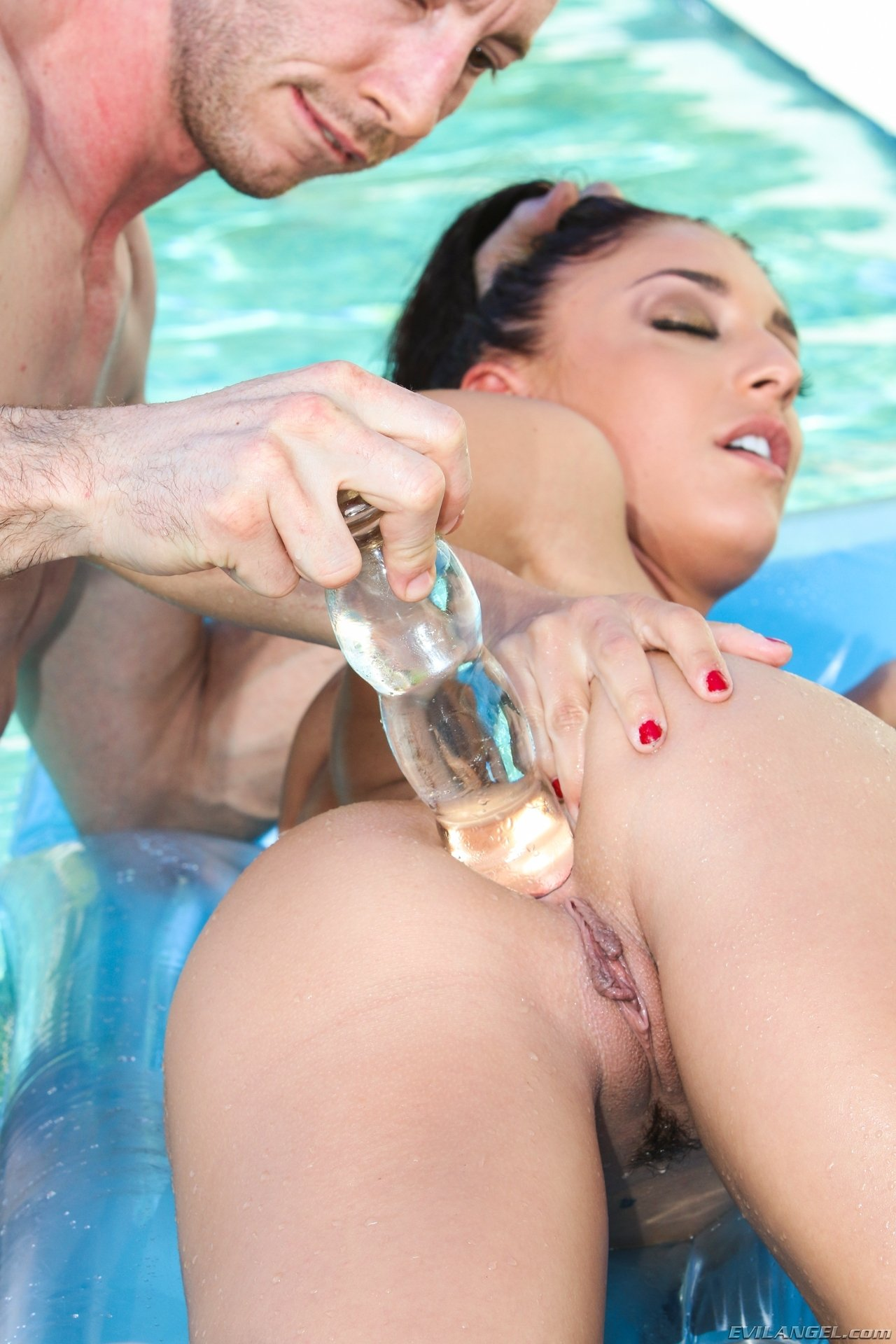 Из жопы в рот - Порно фото галерея 996597