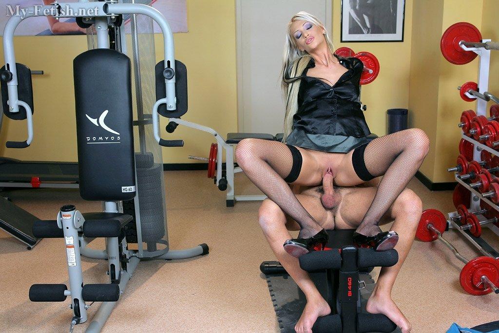 Порно фитнес фото девушек