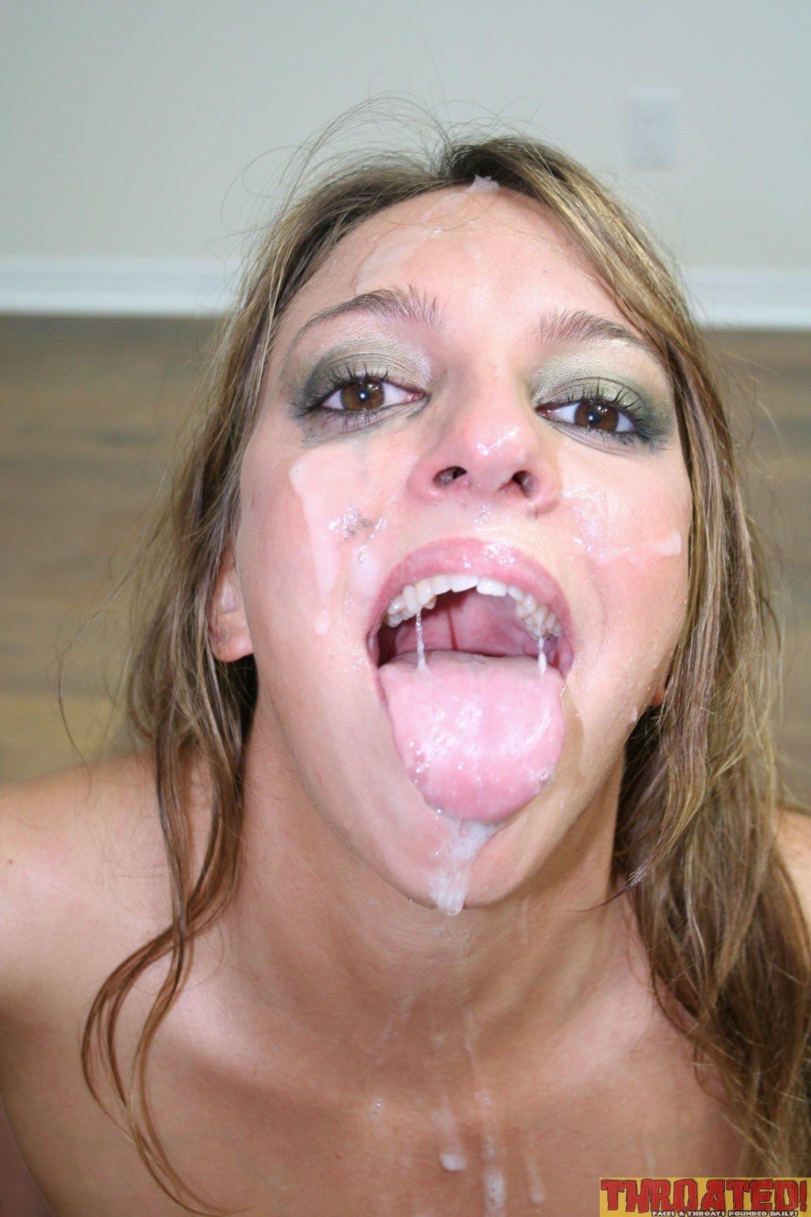 Полоскание горла спермой - Порно фото галерея 734489