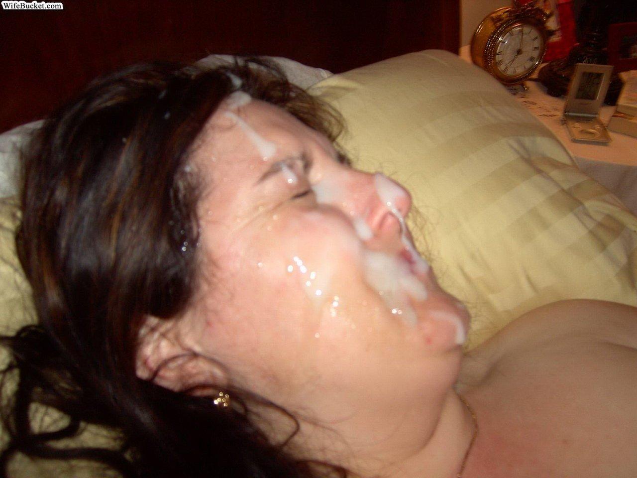 Сперма на женщине домашнее фото, Жены в сперме частное фото 8 фотография