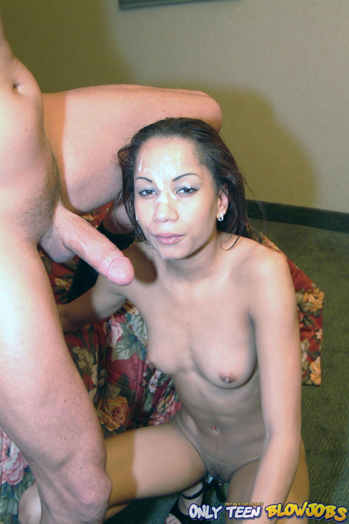 Спермой в глаз - Порно фото галерея 752343