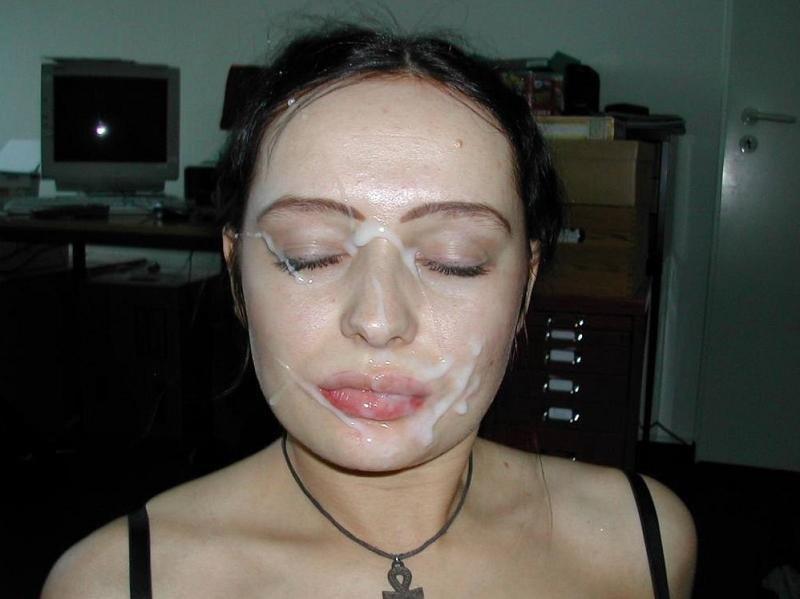 Спермой в глаз - Порно фото галерея 871106