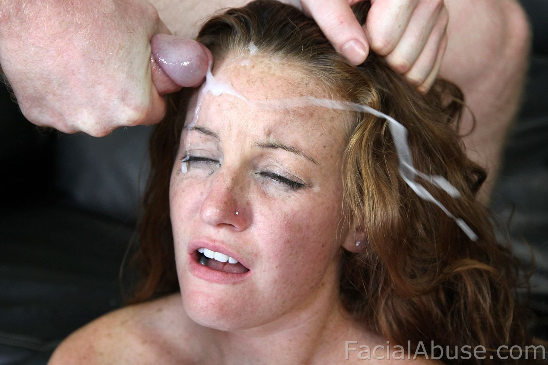 Порно сперма на волосах
