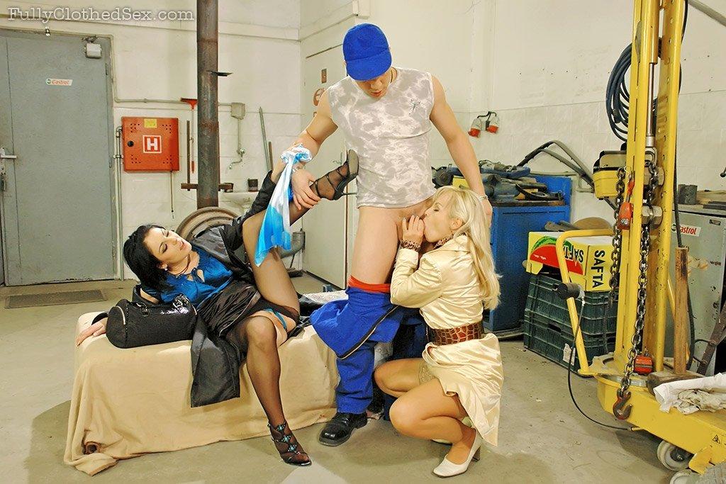 Секс в одежде - Фото галерея 721870
