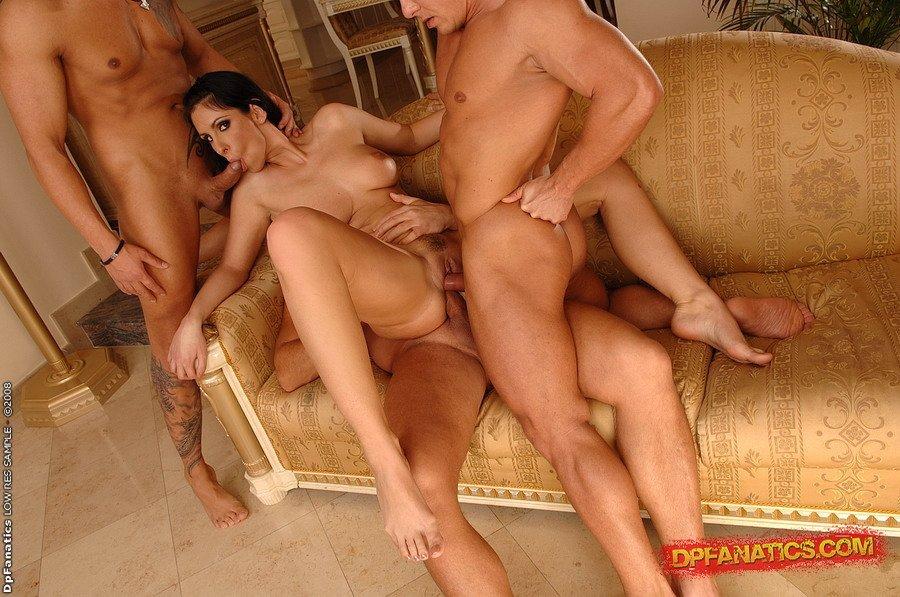 групповое порно тройное проникновение