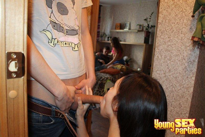 Вчетвером - Порно фото галерея 833572
