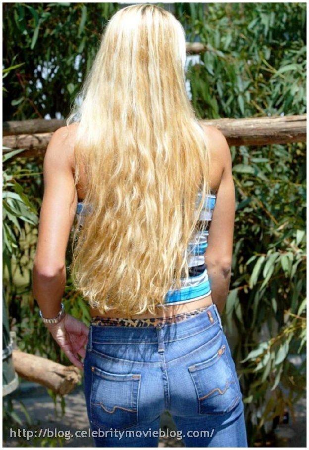 Длинноволосая - Порно фото галерея 444789