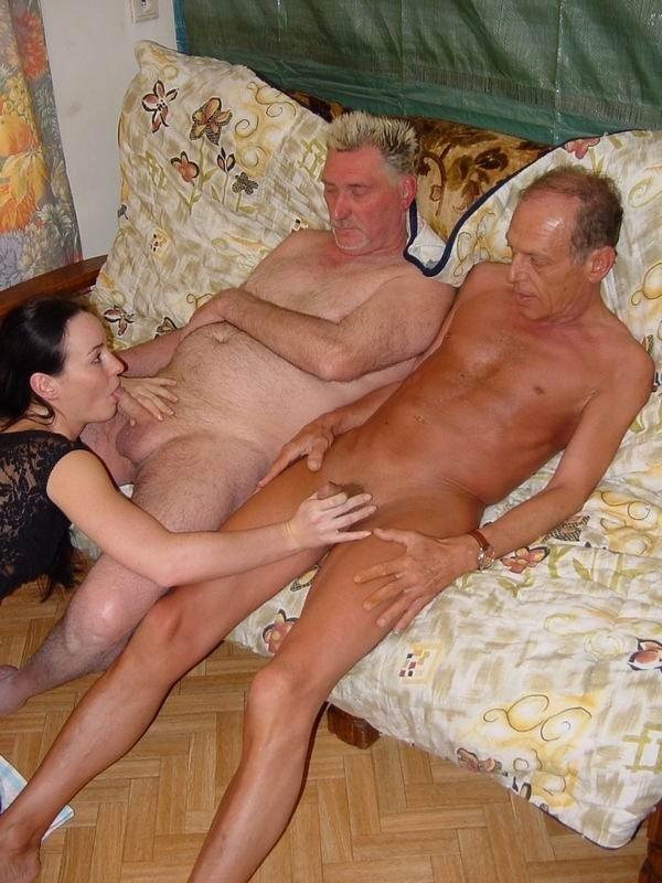 дедушка и бабушка красива секс