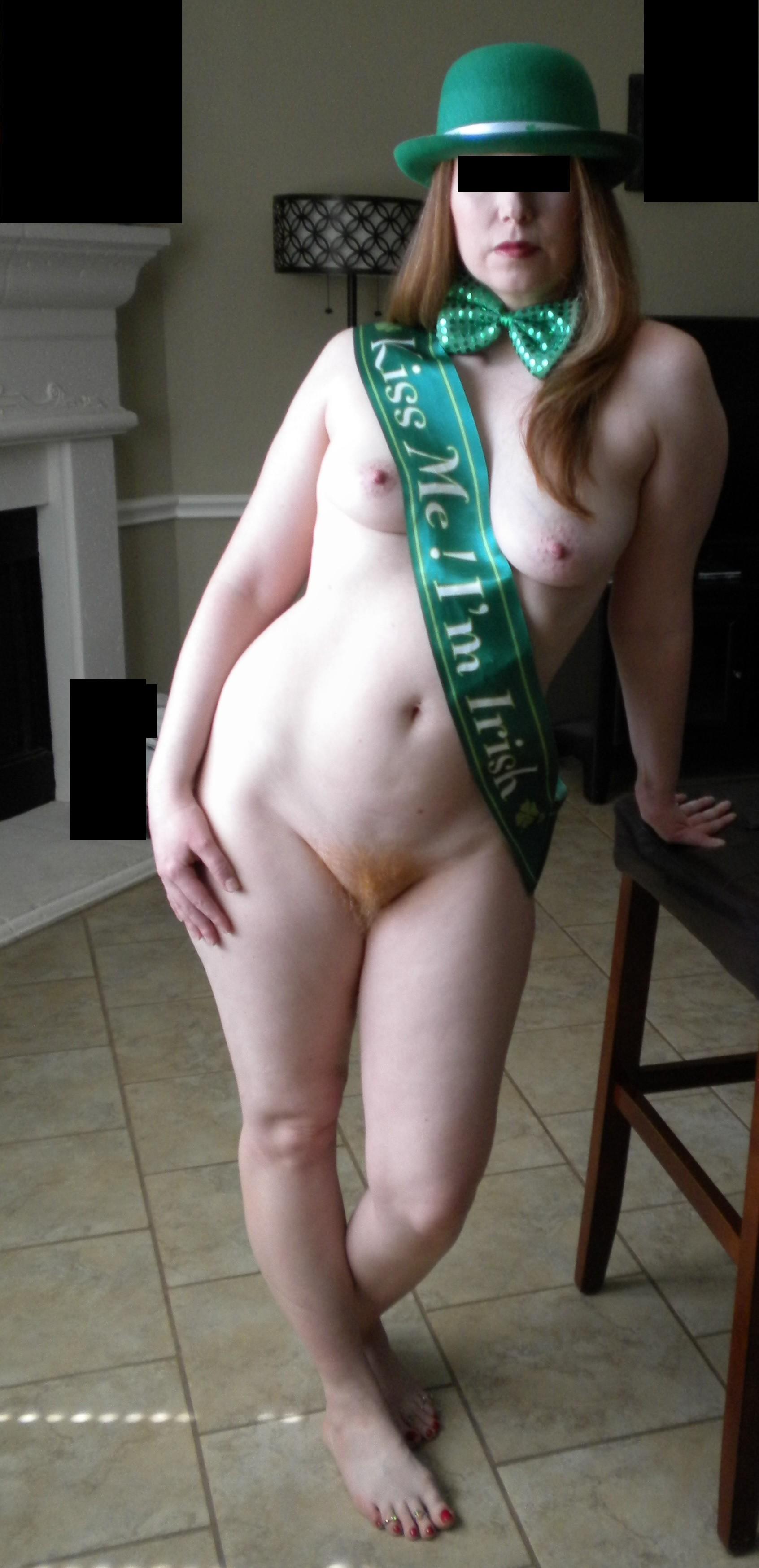 Рыжая пизда девушки из Ирландии