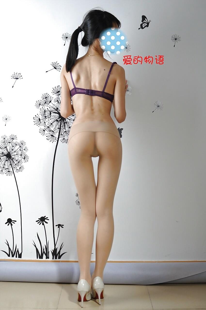 Маленькие жопы китаянок
