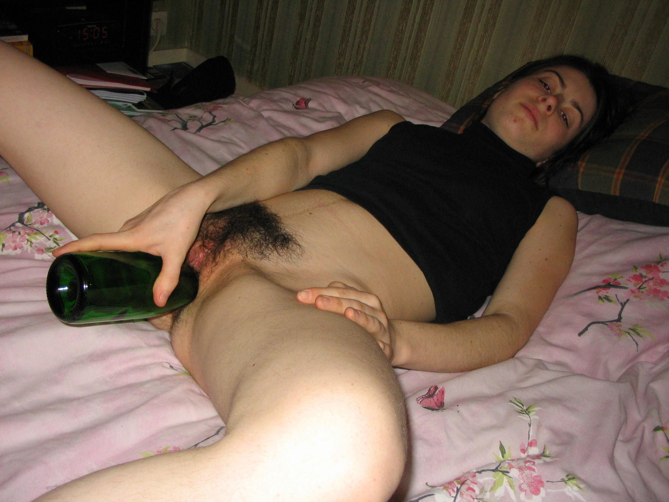 Чужая пизда женщина пьяная
