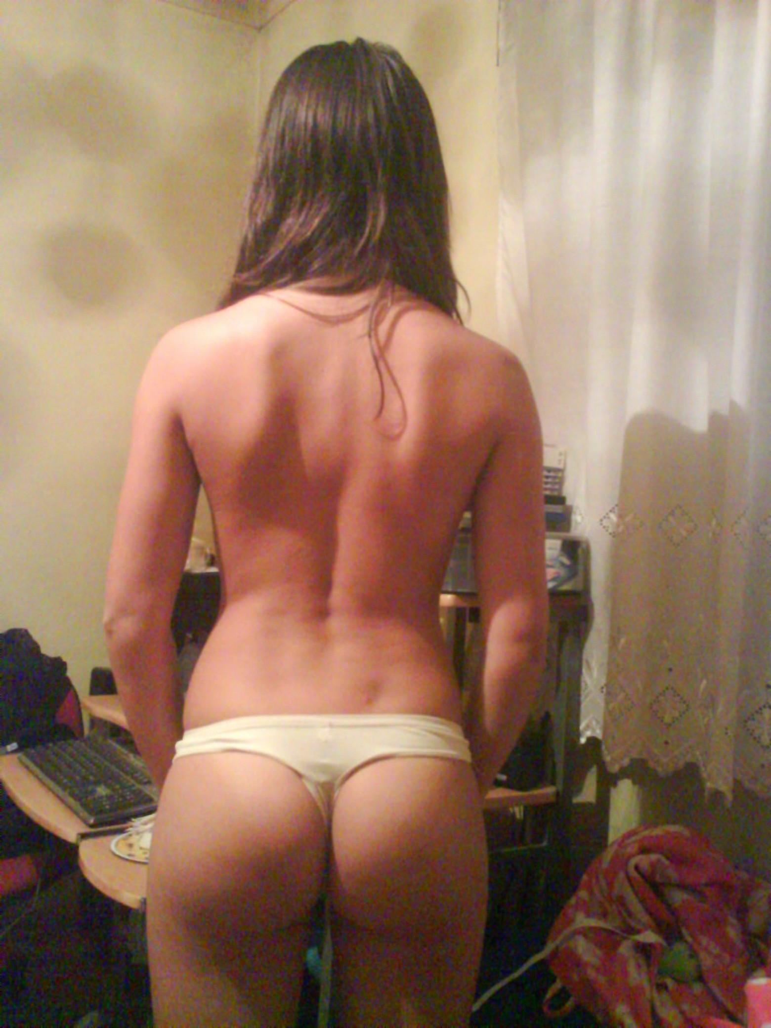 Красивая голая студентка Мариана
