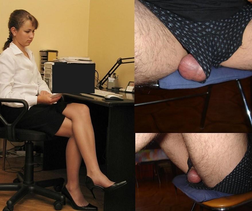 Реакция женщин на мужские гениталии - компиляция 12
