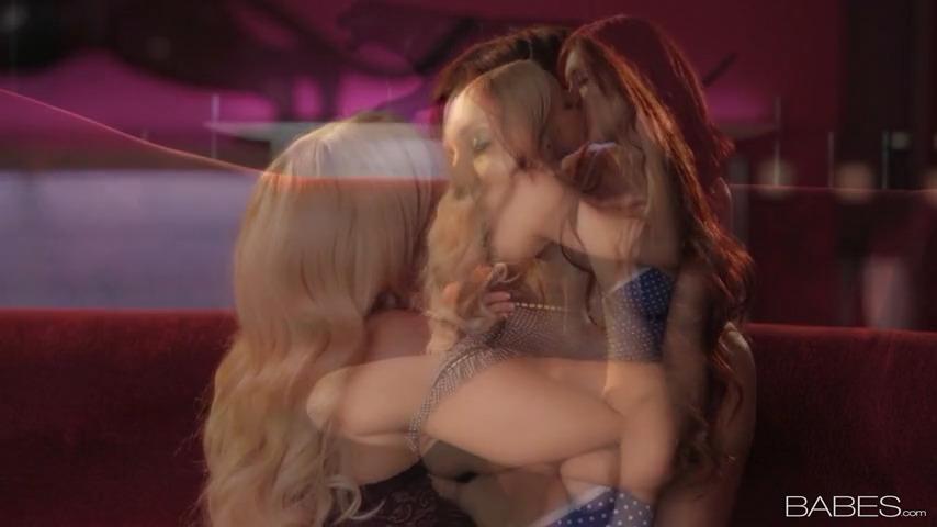 Нежный лесби секс Veronica Ricci и Aaliyah Love