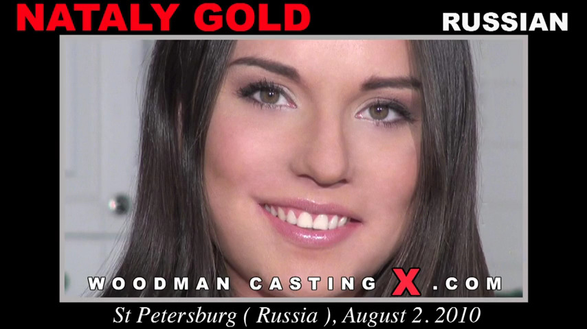 Два парня долбят Nataly Gold на кастинге Вудмана